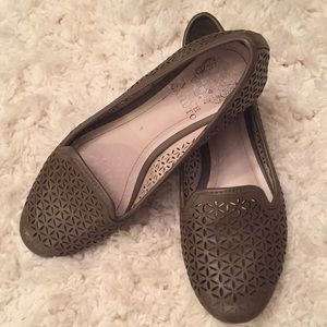 Vince Camuto Perforated Leather Flats✨